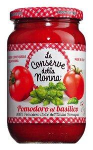Le Conserve della Nonna Pomodoro al basilico - Tomatensauce mit Basilikum 370ml 0000 - Saucen, Pesto & Chutneys, Italien, 0.3700 l