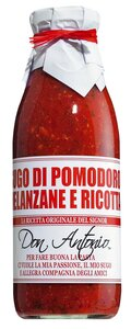 Don Antonio Sugo alla melanzane e ricotta - Tomatensauce mit Auberginen und Ricotta 480ml 0000 - Saucen, Pesto & Chutneys, Italien, 0.4800 l