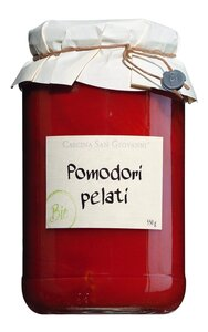Cascina San Giovanni Pomodori pelati Bio - Geschälte Tomaten 550g 0000 - Konserven, Italien, 0.5500 kg