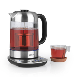 Tee- und Wasserkocher mit Teesieb »2in1«
