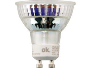 OK. OKLED-AGU10-PAR16-4.6W LED-Lampe GU10 Warmweiß 345 Lumen