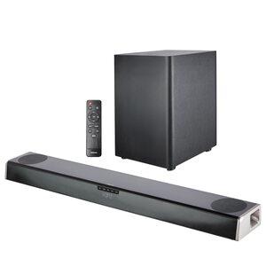 MEDION LIFE® Dolby Atmos® Soundbar S61388, Dolby Atmos® Surround Sound, kabelloser Subwoofer, Bluetooth® 5.0