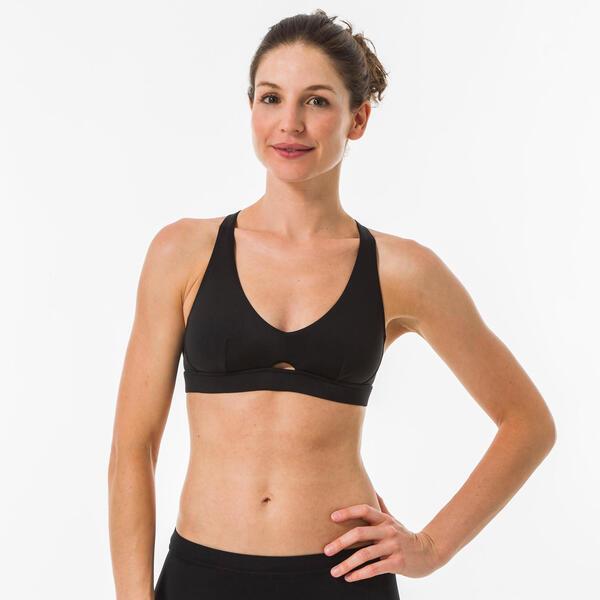 Bikini-Oberteil Bustier Agatha Surfen Rücken doppelt verstellbar Damen