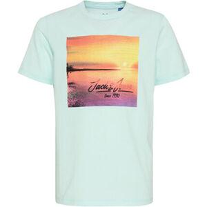 Jack & Jones T-Shirt, cooler Print, für Jungen