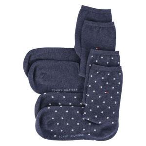 Tommy Hilfiger Dot Socken, Baumwolle, 2er-Pack, für Damen