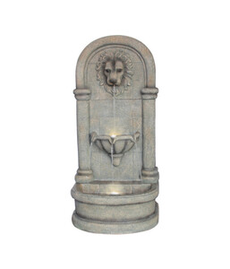 Dehner Polyresin-Wandbrunnen Faro, 49,5 x 38 x 103,5 cm