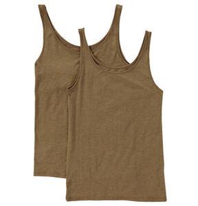 Sylvia Speidel Unterhemd, 2er-Pack, meliert, für Damen