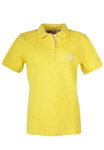 U.S. Polo Assn. Poloshirt, Rippbündchen, tailliert, für Damen