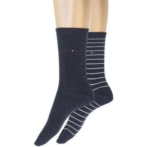 Tommy Hilfiger Small Stripe Socken, Streifen, 2er-Pack, für Damen