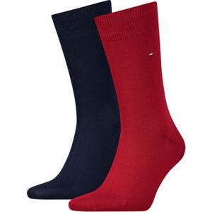 Tommy Hilfiger Classic Socken, 2er-Pack, uni, für Herren