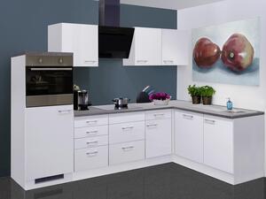 Eckküche in Weiß ´LUCCA 280X170 CM WEISS´