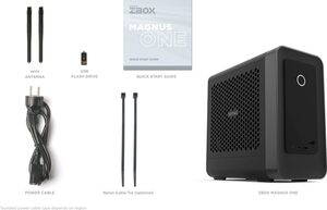 Hyrican Zotac Magnus 6663 Gaming-PC (Intel Core i7 10700, RTX 3070, 16 GB RAM, 1032 GB SSD, Luftkühlung)