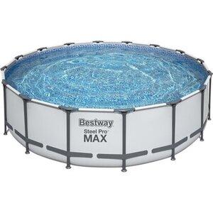 Steel Pro MAX  Frame Pool 488 x 122 cm Komplett-Set rund