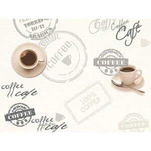 A.S. Creation Strukturprofiltapete Faro 4 Kaffee Beige