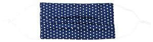 Mundbedeckung - Blue Dots