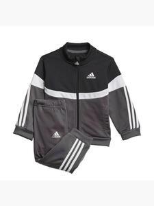 adidas Shiny Badge of Sport 3-Streifen Trainingsanzug