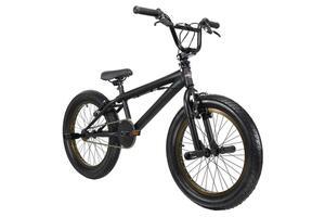 BMX Freestyle 20'' Fatt schwarz-bronze KS Cycling 673B