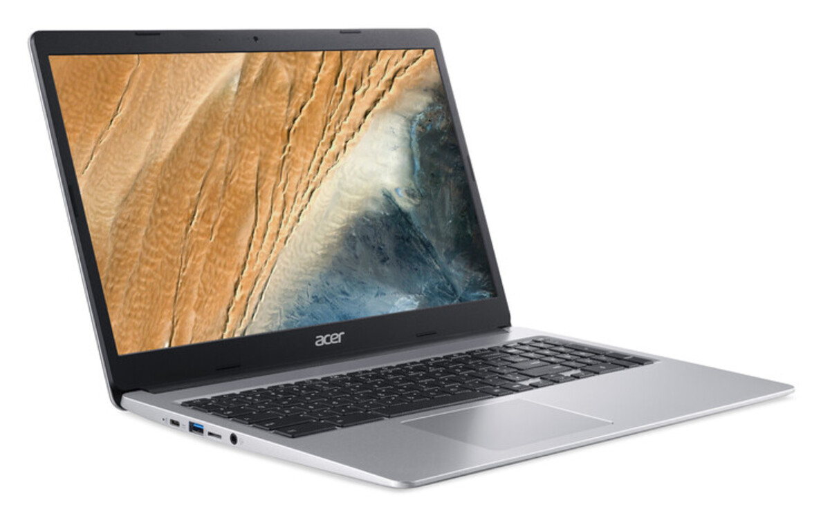 Bild 2 von ACER Chromebook 15 (CB315-3HT-C47Q) Notebook (15,6 Zoll Multi-Touch Full-HD IPS (matt), Celeron N4100, 4 GB RAM, 64 GB eMMC, UHD-Grafik 600, Chrome OS)