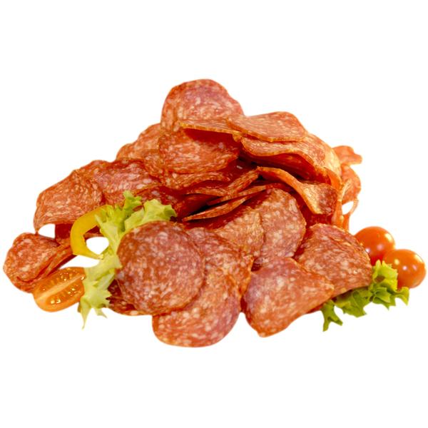 Truthahn-Salami-Verschnitt