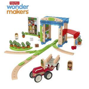 Fisher-Price Wunder Werker Kleine Stadt, Baukasten, Konstruktions-Spielzeug