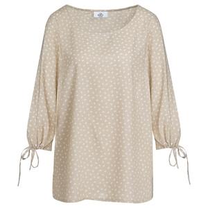 Damen Bluse mit Minimal-Print