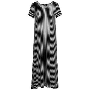 Damen Kleid in gestreiftem Dessin