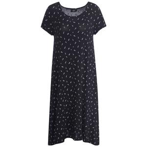 Damen Kleid mit Allover-Musterung