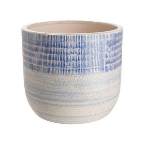 WHITE&BLUE Blumentopf Ø16cm