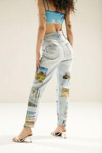 Gerade geschnittene Unisex-Jeans South Beach