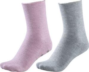 Hudson Damen-Socken Homesocks im 2er-Pack ABS-Sohle Uni  39 - 42
