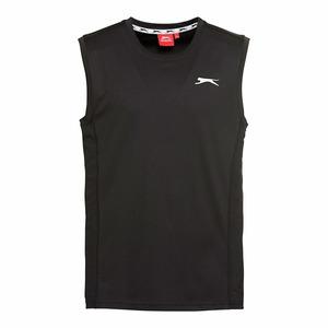 Slazenger Herren-Sport-Muskelshirt mit Logo
