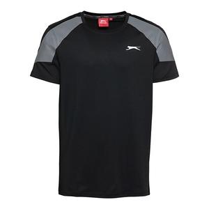 Slazenger Herren-Fitness-T-Shirt mit Logo