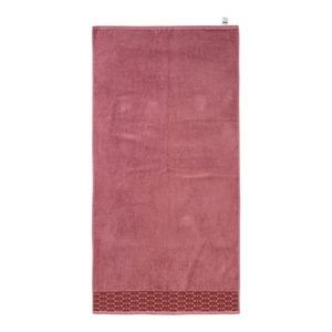 Duschtuch mit hübscher Bordüre, 70x140cm