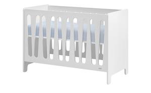 Kinderbett - weiß - 66,5 cm - 88 cm - Baby