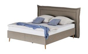 Möve Polsterbett  Fantasia - braun - 220 cm - 122 cm - Betten