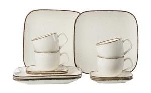 Ritzenhoff & Breker Kaffeservice 12-tlg.  Casa - creme - Steinzeug - 30 cm - 35 cm - Geschirr