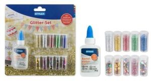 Glitter-Set - 11-teilig
