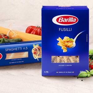 Barilla Italienische Pasta aus 100 % Hartweizen, versch. Sorten, jede 500-g-Packung