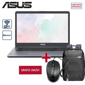 asus Notebook D705BA-BX122T • entspiegeltes HD+ Display • AMD A9-9425 Prozessor bis zu 3,7 GHz • AMD Radeon™ R5 Graphics (integrierte Grafik) • Webcam, Kartenleser • 8-GB-DDR4-SO-DIM