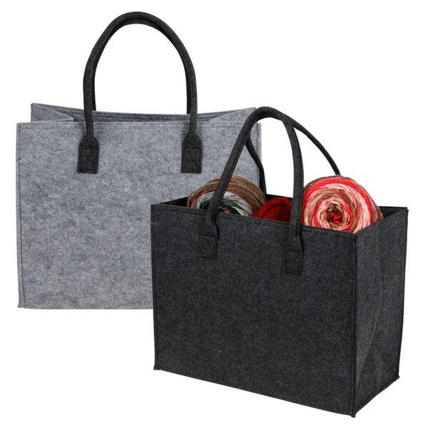 Filz-Einkaufstasche 42x21,5x33cm