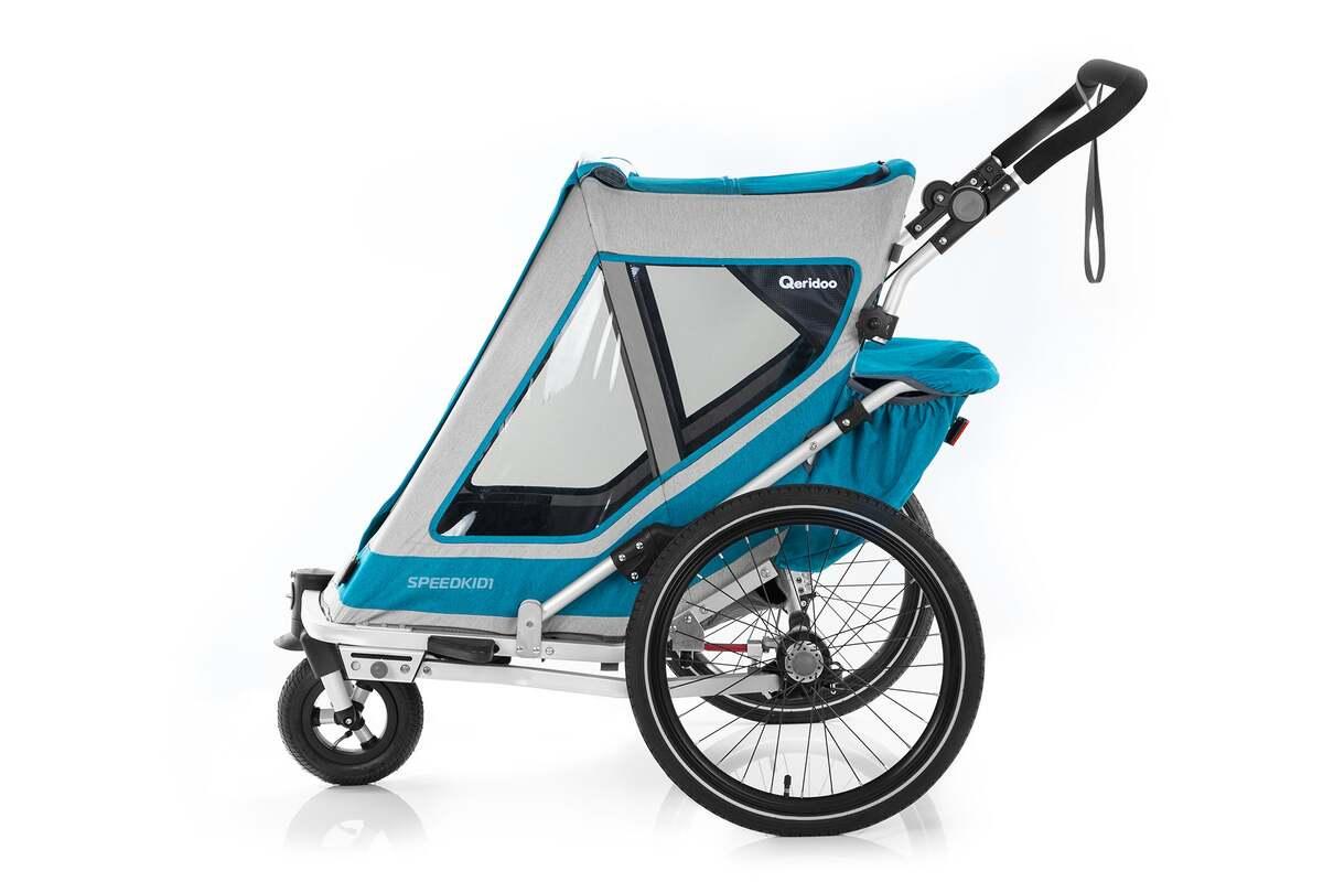 Bild 3 von Qeridoo Kindersportwagen Speedkid 1 petrol