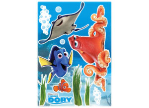 Deko-Sticker Dory and friends ca. 50 x 70 cm