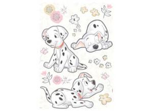 Deko-Sticker 101 Dalmatiner Best of Friends ca. 50 x 70 cm