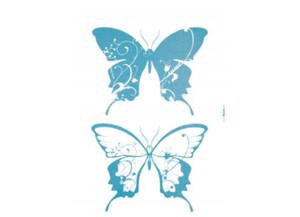 Deko-Sticker Farfalle ca. 50 x 70 cm