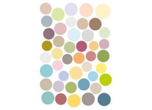Deko-Sticker Punkte ca. 50 x 70 cm