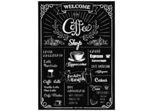 Deko-Sticker Coffeeshop ca. 50 x 70 cm