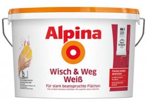 Alpina Wisch & Weg Weiß 5 Liter