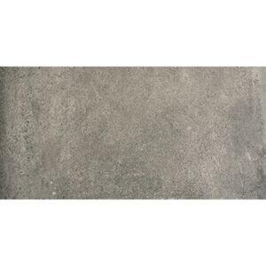 Feinsteinzeug 'Claystone' anthrazit 30,5 x 61 cm