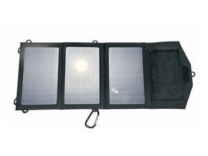 SILVERCREST® Solarpanel Ladegerät, faltbar, mit 15 Watt Input, 10 Watt Output