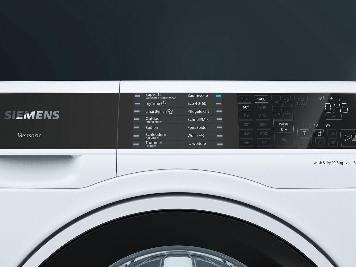 Bild 4 von Siemens WD14U512 Waschtrockner